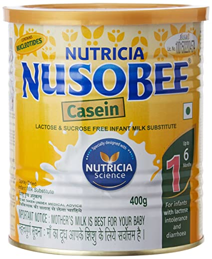 Nusobee Casein 1 Infant Formula Tin - 400 g