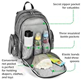 Little Cypress Insulated Diaper Bag, Large