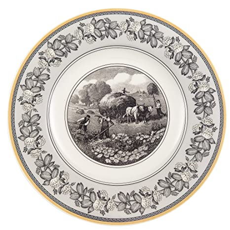 Amazon.com | Villeroy U0026 Boch Audun Ferme Dinner Plate: Dinnerware Sets:  Dinner Plates