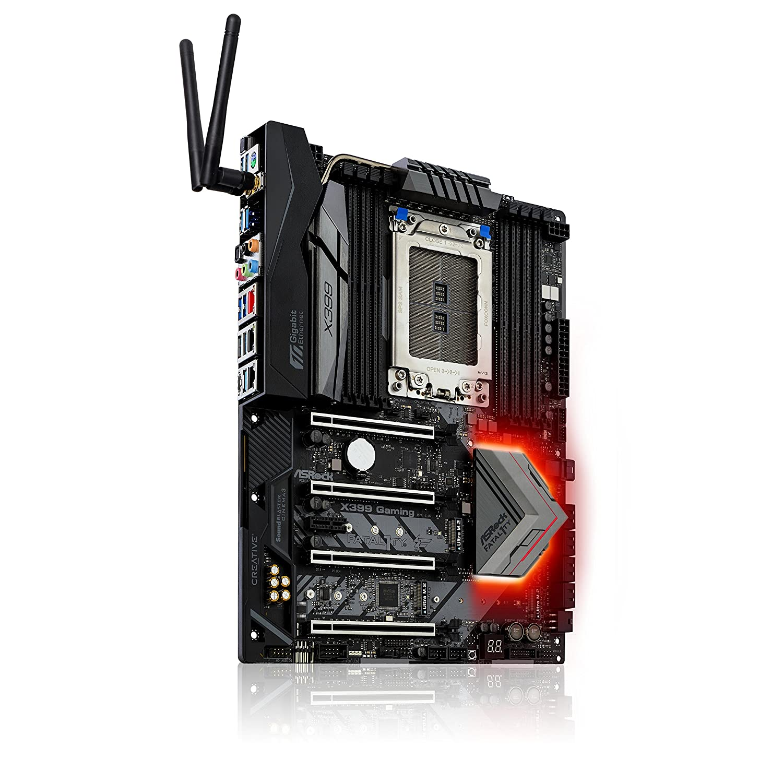 ASRock X399 Professional Gaming sTR4 SATA 6Gb//s USB 3.1//3.0 ATX AMD Motherboard