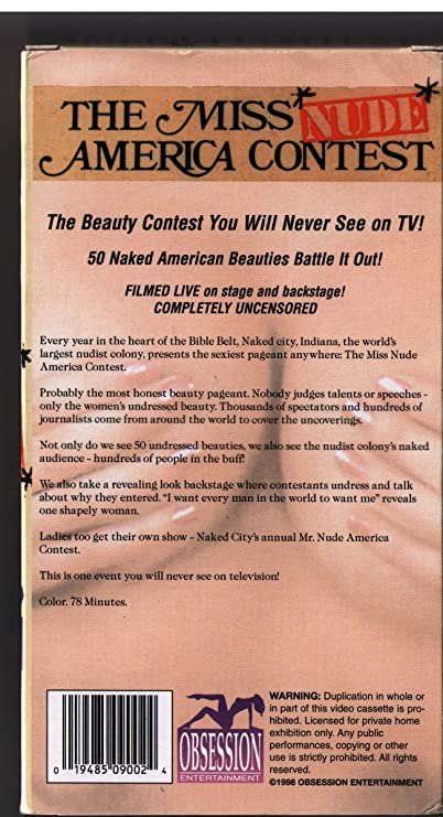 Pity, miss nude america nude video