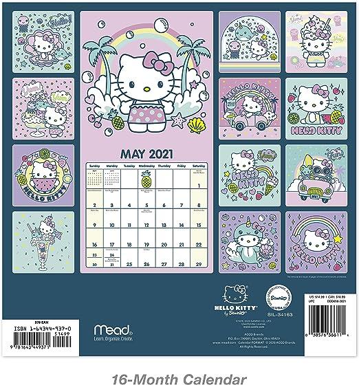 Printable Hello Kitty Calendar 2021 Wallpaper