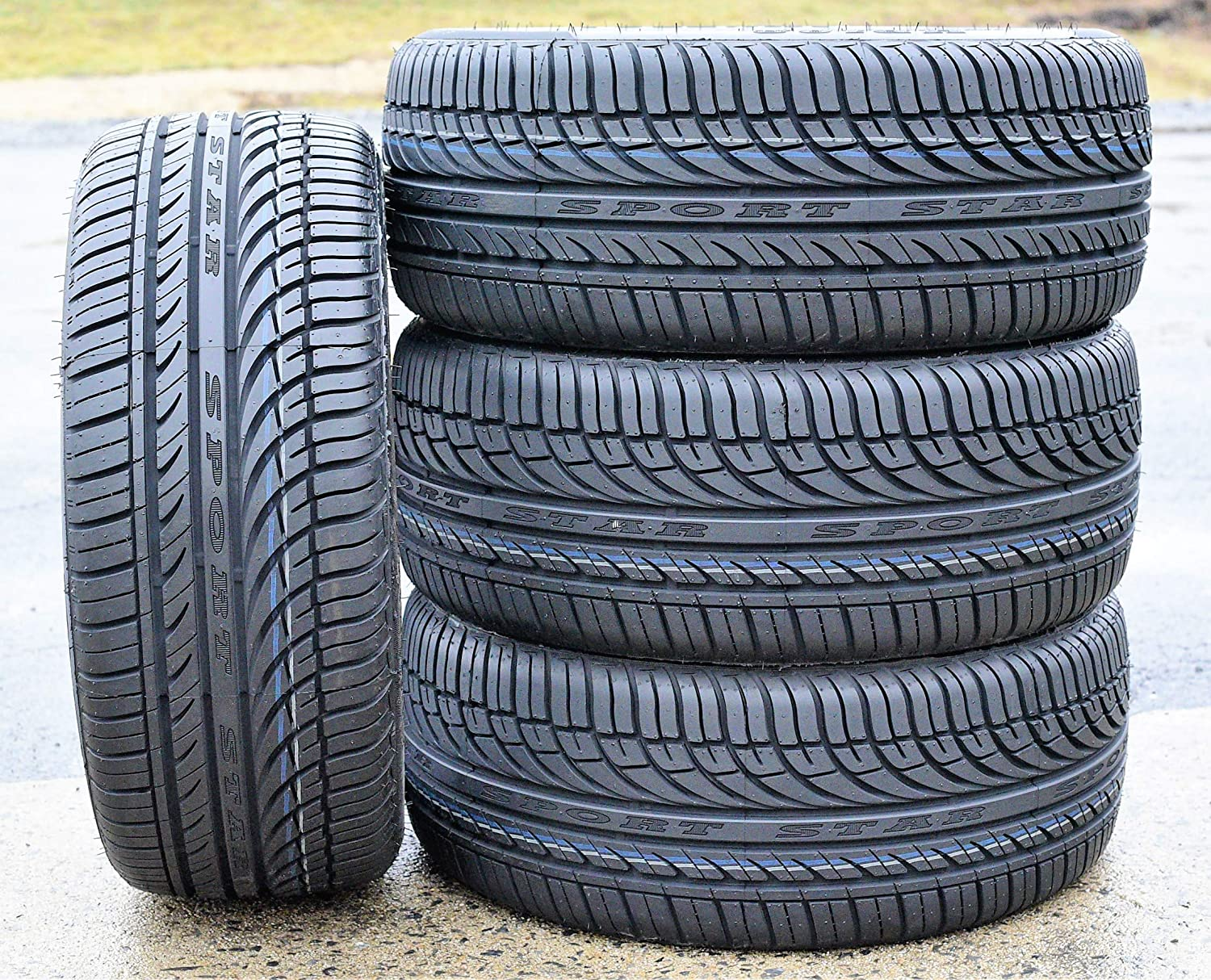 Set of 4 Fullway HP108 All-Season Performance Radial Tires-235//65R18 106H FOUR