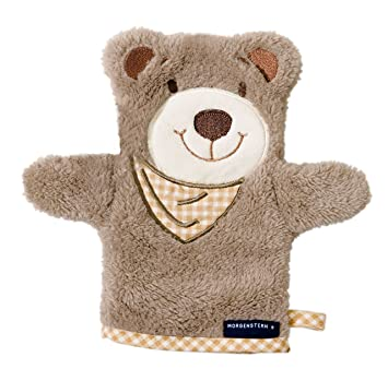 Waschlappen mit Bär für Kinder Baby´s
