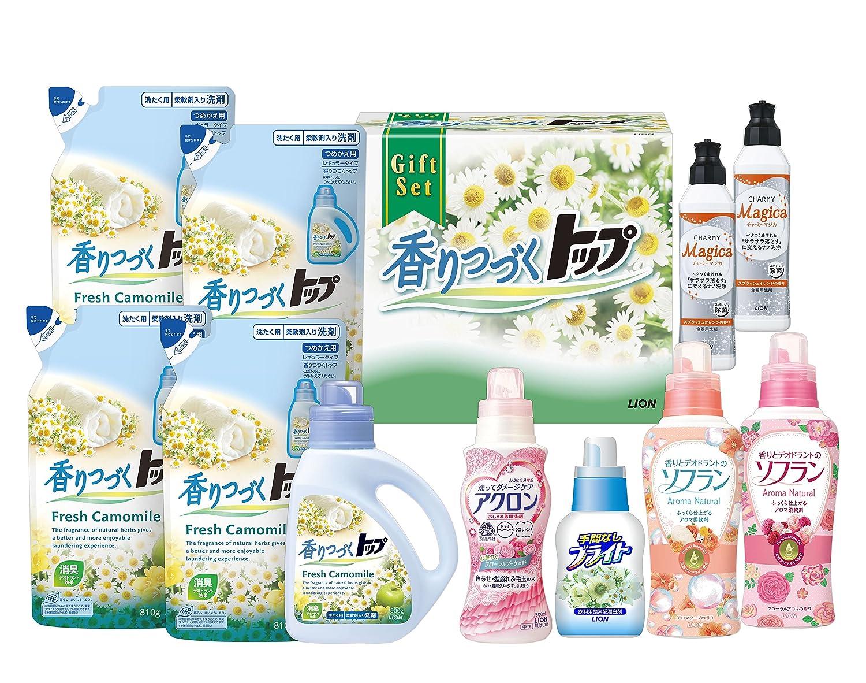香りつづくトップギフト  LKT-50V (洗濯洗剤衣料用漂白剤柔軟剤食器用洗剤) B00WVYQ034