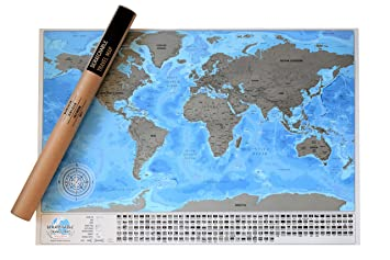 Detailed scratchable travel map with 196 country flags vibrant detailed scratchable travel map with 196 country flags vibrant colours great scratchable world map gumiabroncs Images