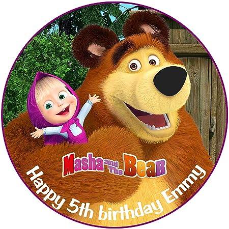 Masha y el oso personalizado decoración para tarta para ...