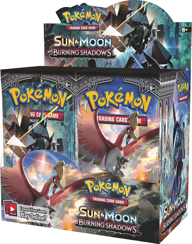 PoKéMoN pok81230 TCG Sol y Luna Burning Sombras Booster Display Juego: Amazon.es: Juguetes y juegos