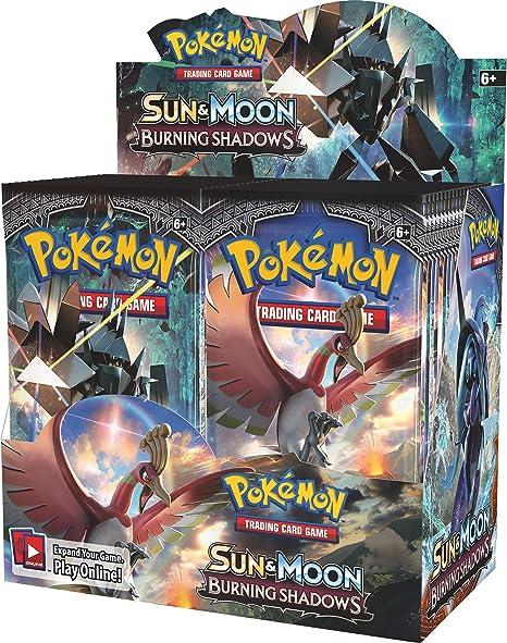 Pokèmon pok81230 TCG Sol y Luna Burning Sombras Booster ...