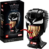 LEGO 76187 Marvel Spider-Man Venom Mask Building Set for Adults, Collectible Gift Model