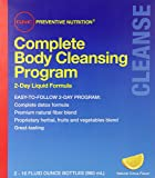 GNC Preventative 2 Day Nutrition Advanced Complete Body Cleansing Program