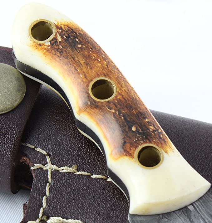 Amazon.com: moorhaus Tracker Handmade cuchillo de Damasco ...