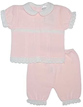 Nursery Time BNWT Tiny Baby Reborn Prem Preemie Baby Girls Teddy and Bunny Summer Dress Set
