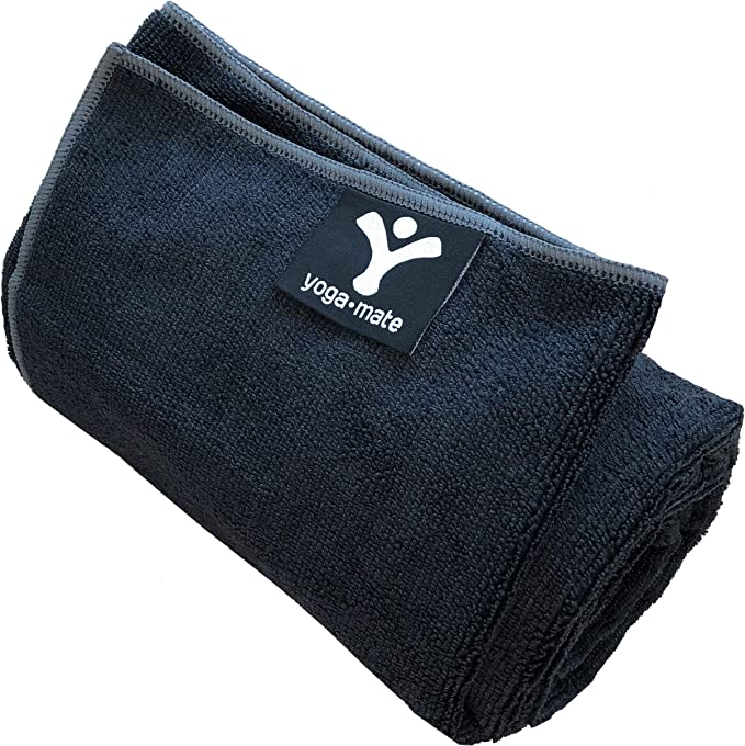 Quick Dry Towel for Bikram Microfiber Soft Absorbent Mat-Sized Hot Yoga Towels QiyI Yoga Towel with Travel Bag Non Slip Blanket with Corner Pockets Pilates and Fitness