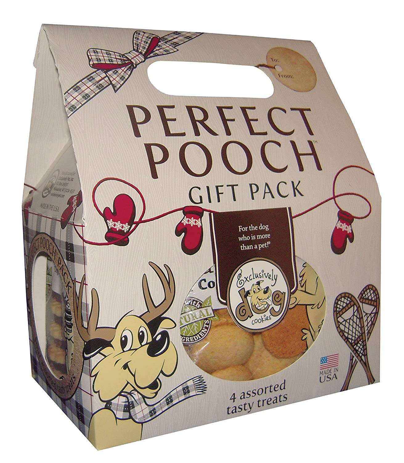 Exclusively Pet Dog Perfect Pooch Gift Pack-2 Pounds