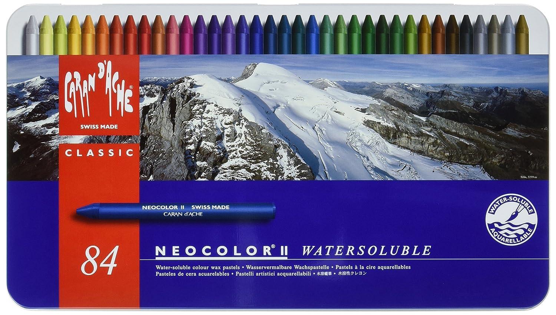 Caran d'Ache Classic Neocolor II Water-Soluble Pastels, 15 Colors Caran d?Ache 7500.315