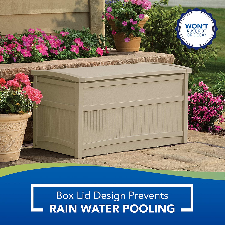 Suncast Db5000 Deck Box 50 Gallon Amazon Ca Patio Lawn Garden
