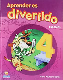 Aprender es divertido: Español: 4 (Spanish Edition)