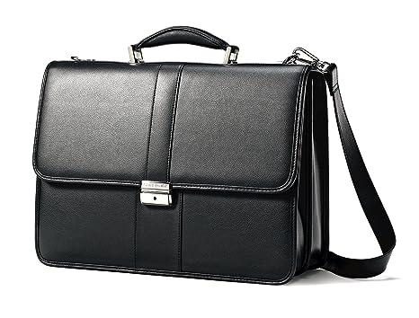 Amazon.com: Samsonite Leather Flapover Case: Books