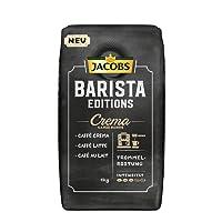 Jacobs Barista Editions Crema, Kaffee Ganze Bohne, 1 kg