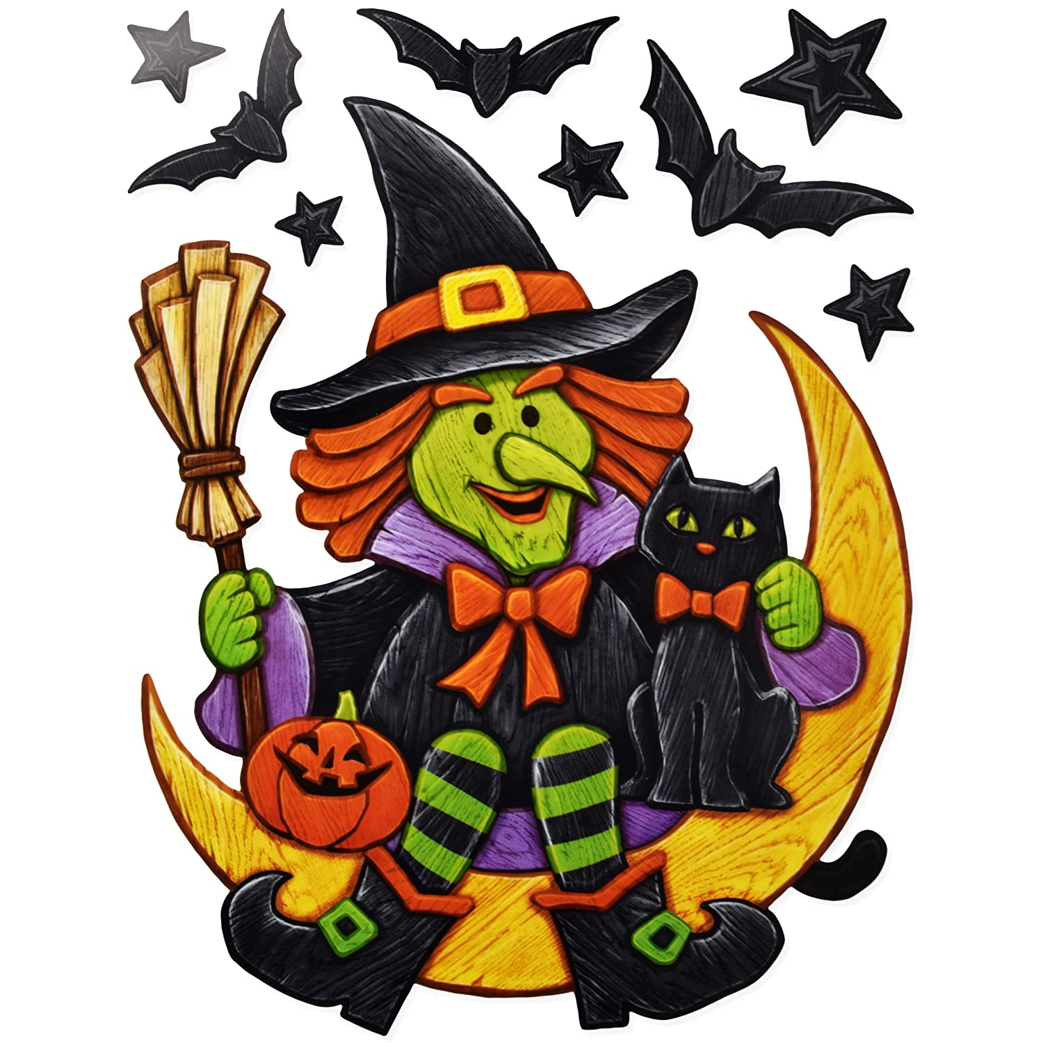 Gift Boutique Halloween Window Clings Decorations Decals 8