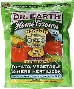 Dr. Earth Organic 5 Tomato, Vegetable & Herb Fertilizer Poly Bag