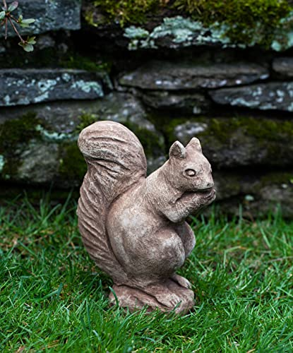 Campania International A-098-BR Standing Squirrel Statue