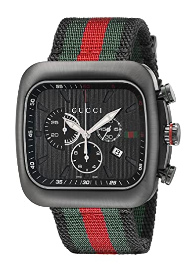 44a81d4c1dc Gucci YA131202 Mens Coupe Wrist Watches  Gucci  Amazon.ca  Watches