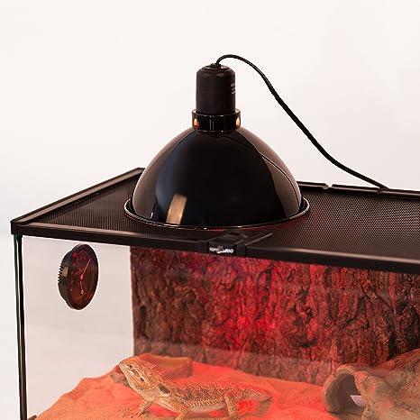 Reptizoo Mini Dome Lamp Fixture Optical Reflection Cover For