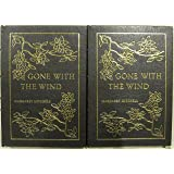 Gone With the Wind.  Two Volume Set.  Collector's Edition in Full Leather