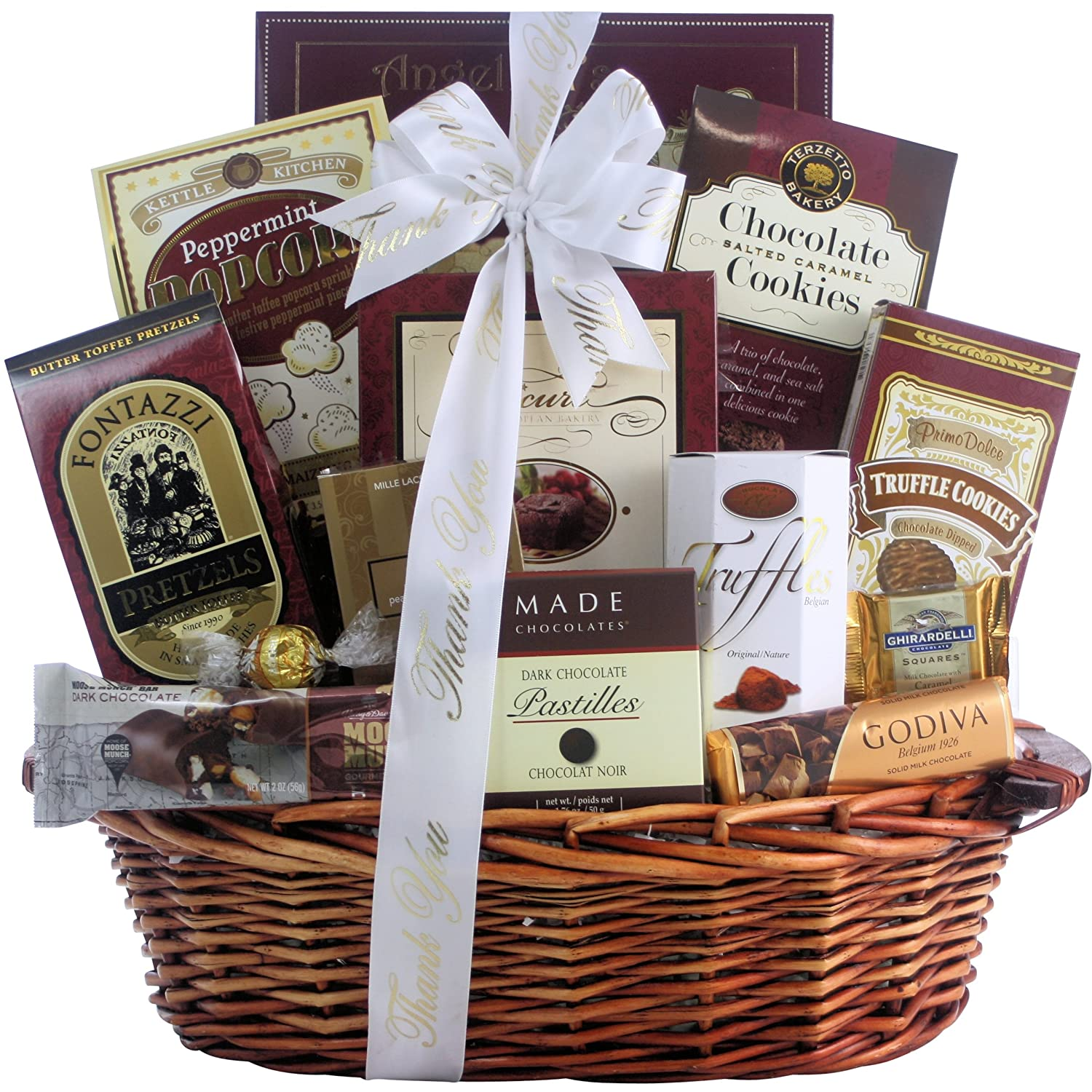 Amazon.com : Great Arrivals Thank You Gift Basket, Chocolate ...