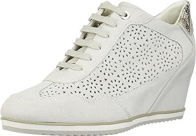 Geox Damen Sneakers D Illusion Off White D8254B 00022 C1002