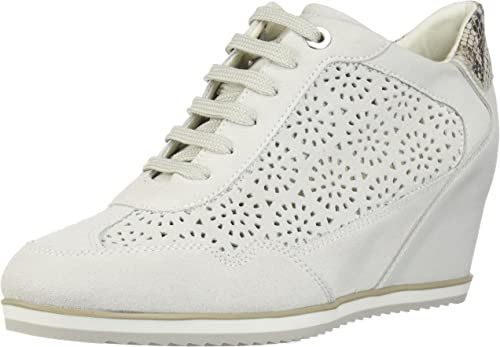 Geox Womens Sneakers D Illusion B Suede