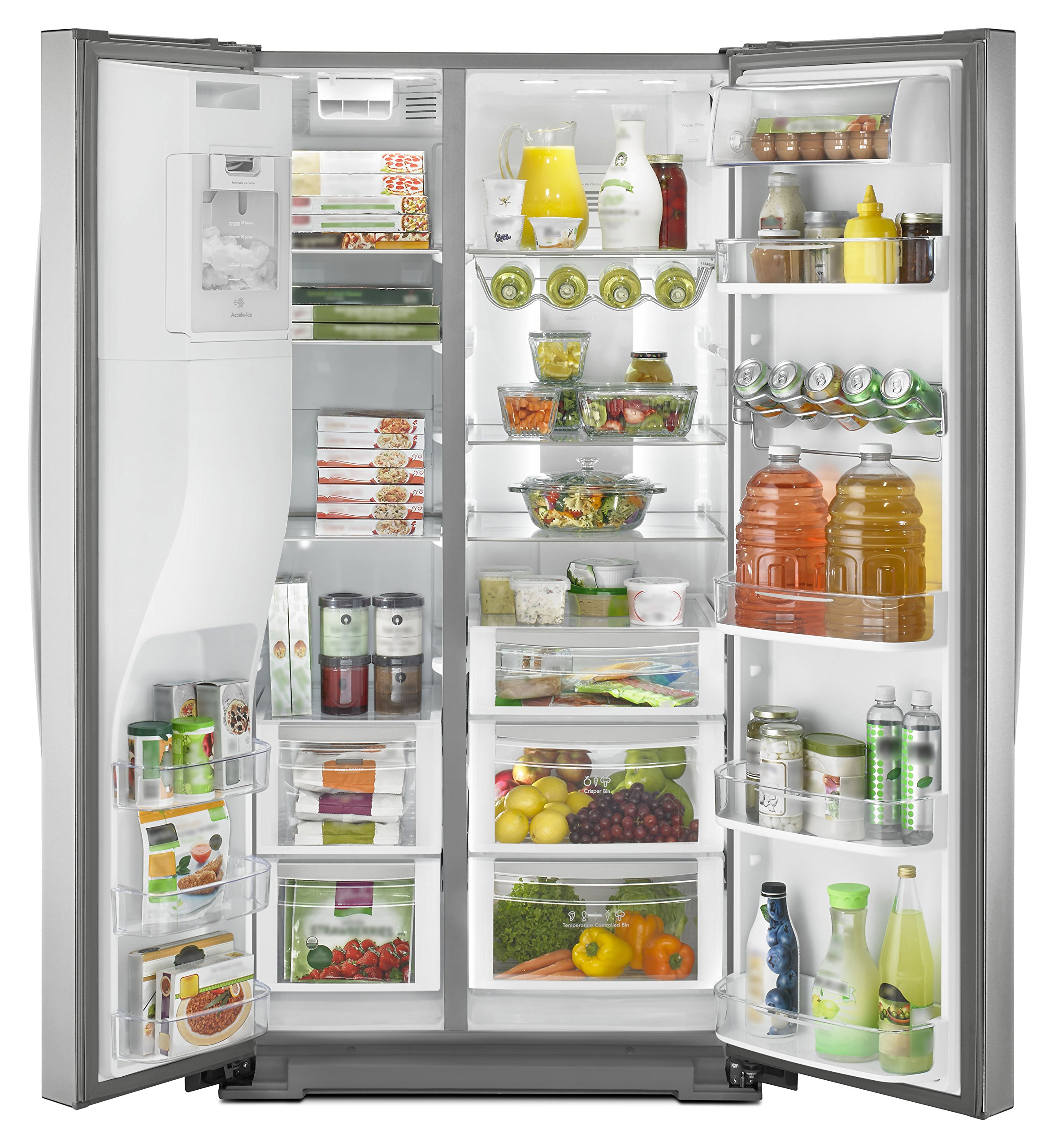 Kenmore Elite 51773 28 cu. ft. Side-by-Side Refrigerator with Accela Ice Technology in Stainless Steel, includes delivery and hookup (Available in select cities only) by Kenmore (Image #6)