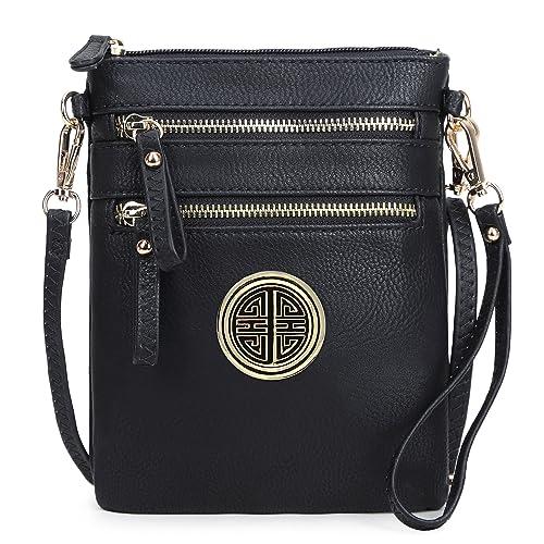 3ada5ba0a0 WU002L (Black)  Handbags  Amazon.com