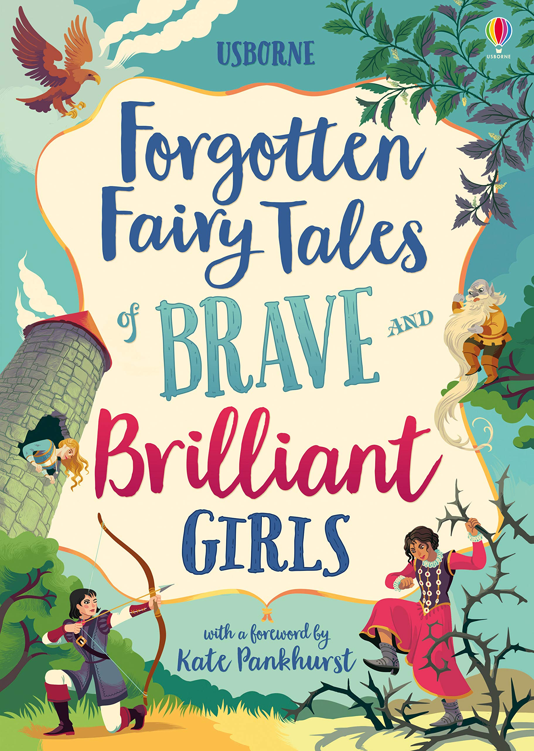 Forgotten Fairy Tales of Brave and Brilliant Girls (Illustrated ...