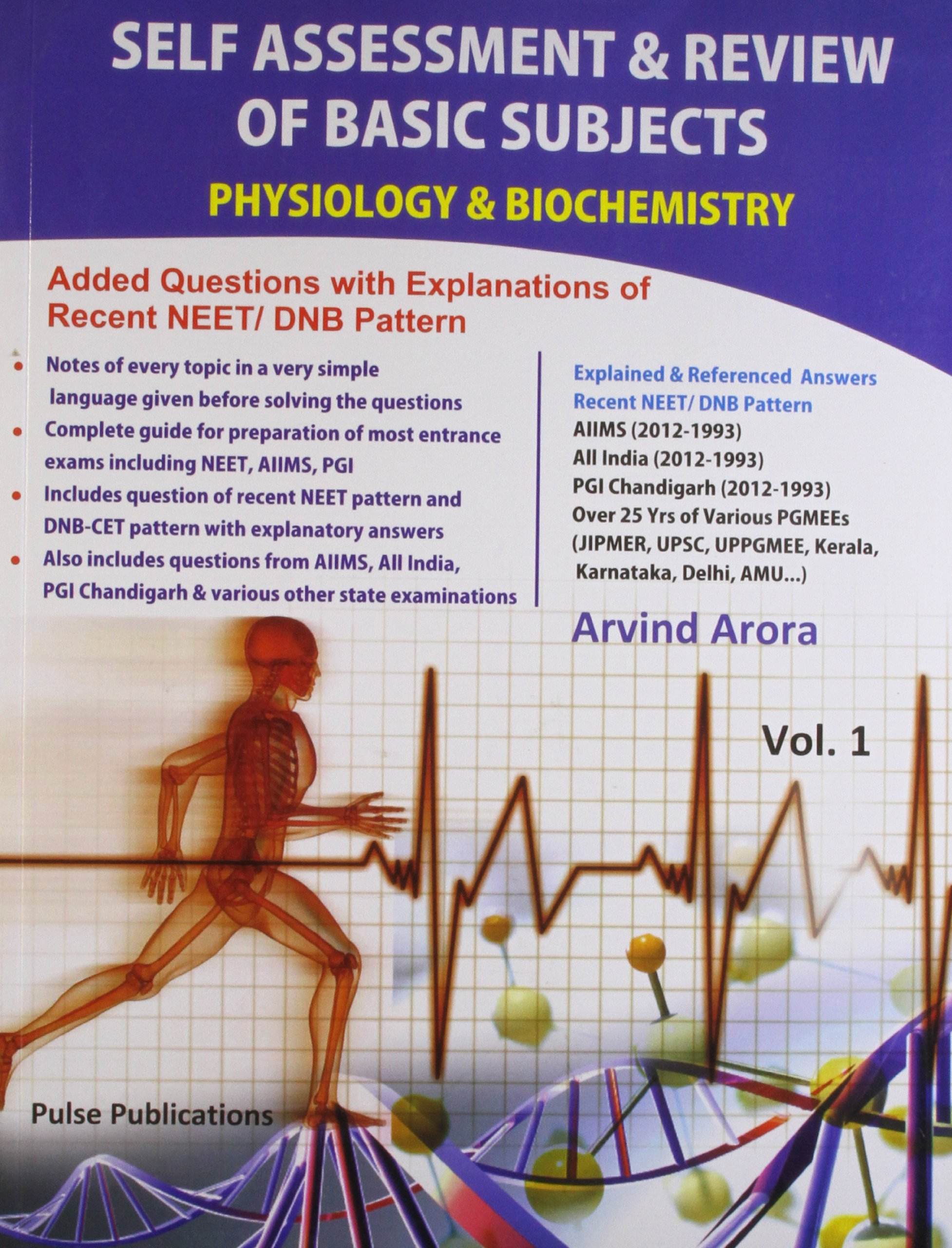 Buy Self Assessment & Review Of Basic Subjects Physiology ...