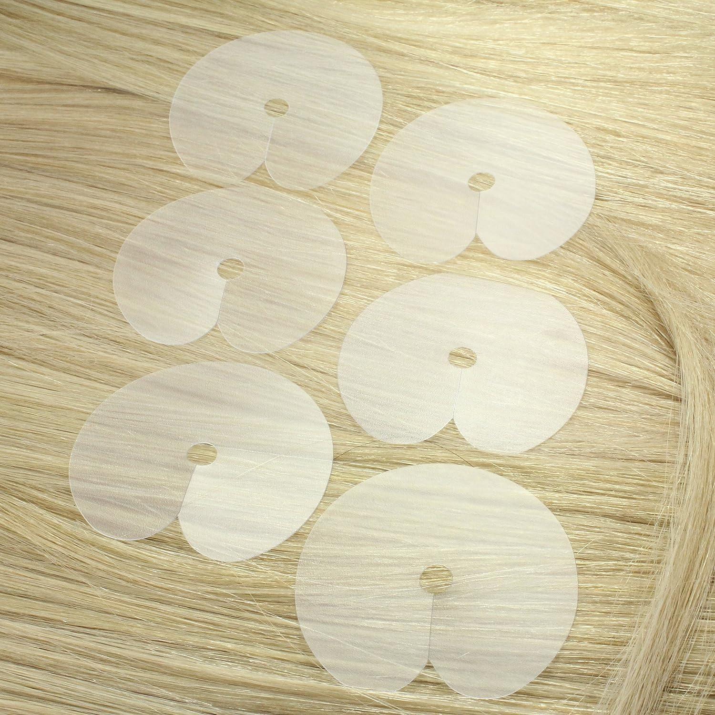 hair2heart 10 x Schablone zum Anbringen von Keratin-Extensions, 10 Stück 10 Stück 4260306728534