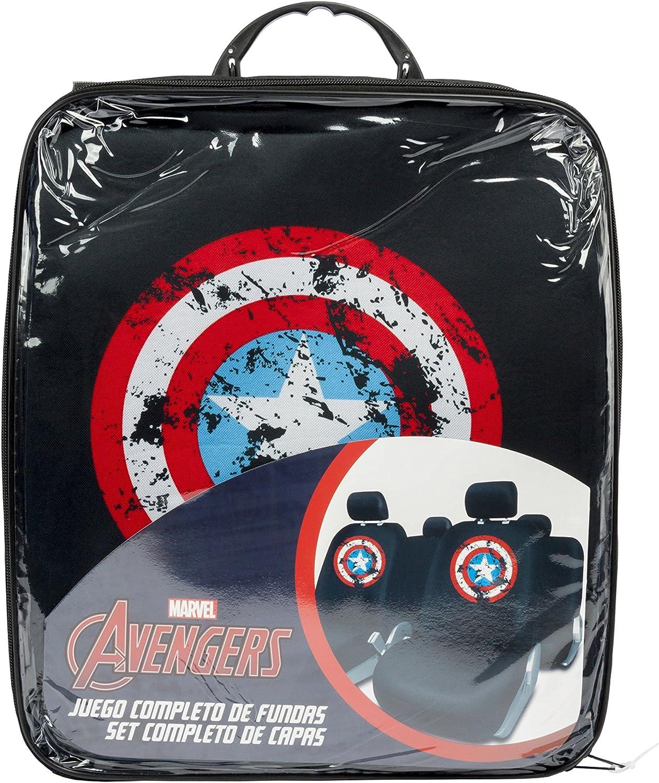 Captain America CAPA101 Set Covers Black