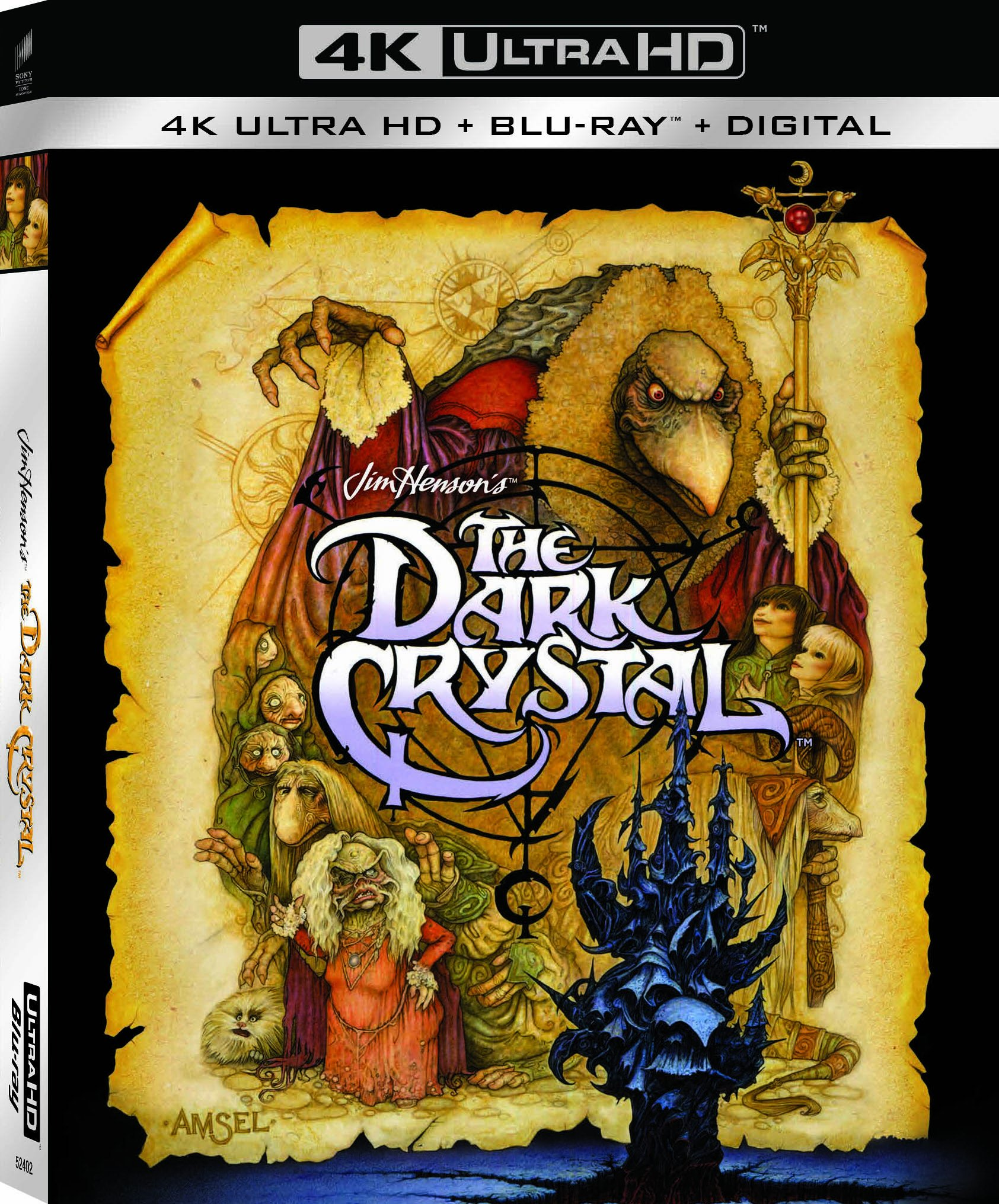 4K Blu-ray : The Dark Crystal (With Blu-Ray, 4K Mastering, Dubbed, , 2 Pack)