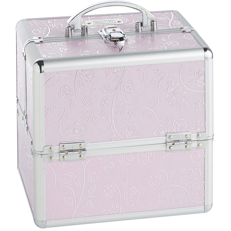 "Amazon Beautify Cosmetic Organizer Case 10"" Professional"