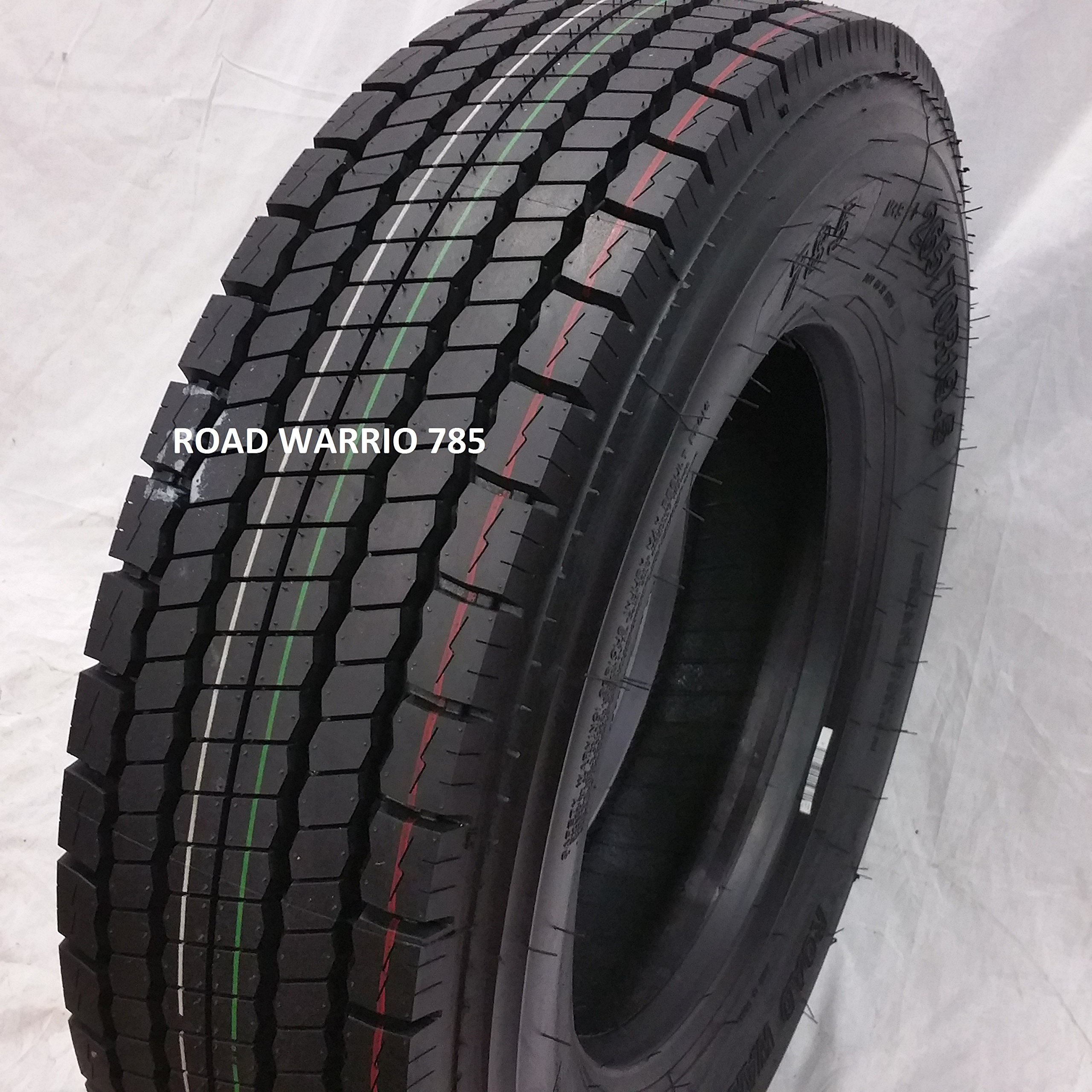 (1-TIRE) 215/75R17.5 ROAD WARRIOR 785 14 PLY DRIVE ALL POSITIONS Premium Heavy Duty TRUCK 21575175 by ROAD WARRIOR