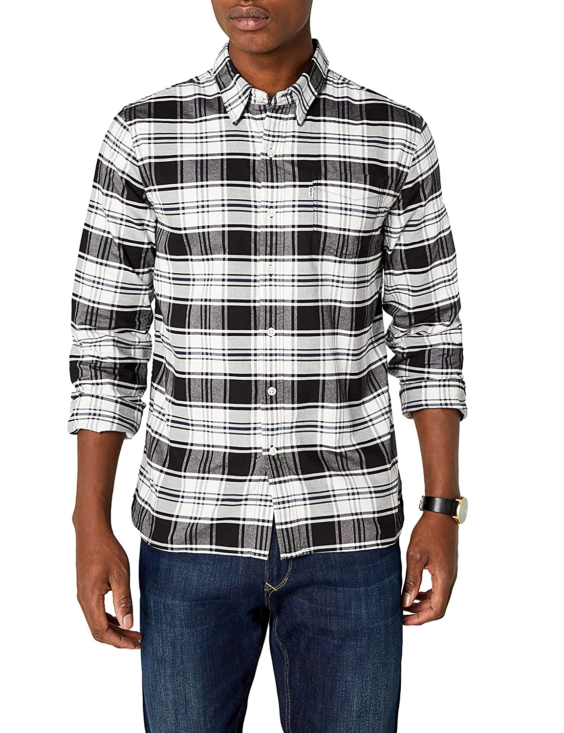 TALLA S. Levi's Sunset 1 Pocket Shirt Camisa Casual para Hombre