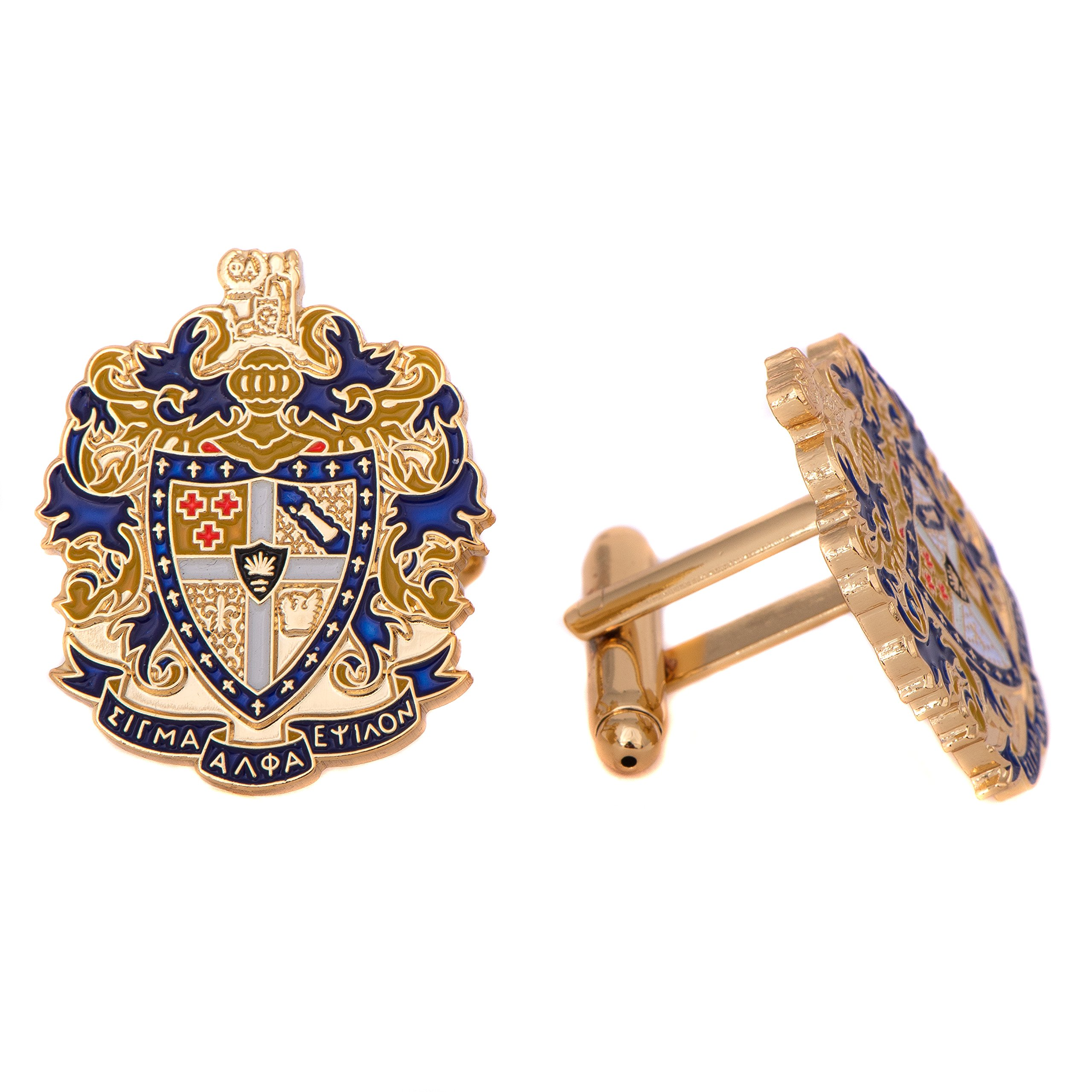 Desert Cactus Sigma Alpha Epsilon Fraternity Crest Cufflinks Greek Formal Wear Blazer Jacket SAE