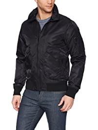 J.Lindeberg Men's Nylon Flight Jacket