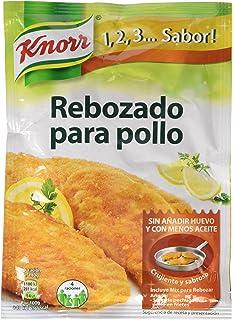 Knorr - Rebozado Pechugas, 100 g, 1 unidad - [Pack de 15]