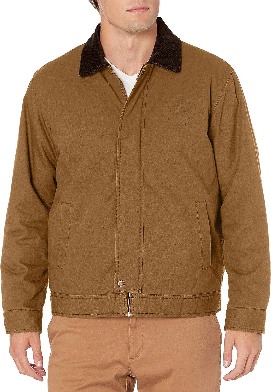 Quiksilver Men's Canvas Cord Collar Jacket: Clothing