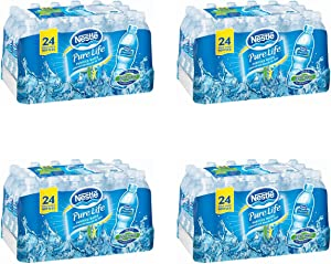 """Nestle Waters North America 101264 """"Nestle Pure Life"""" Purified Water 16.9 Oz, 96 Bottles in total"""