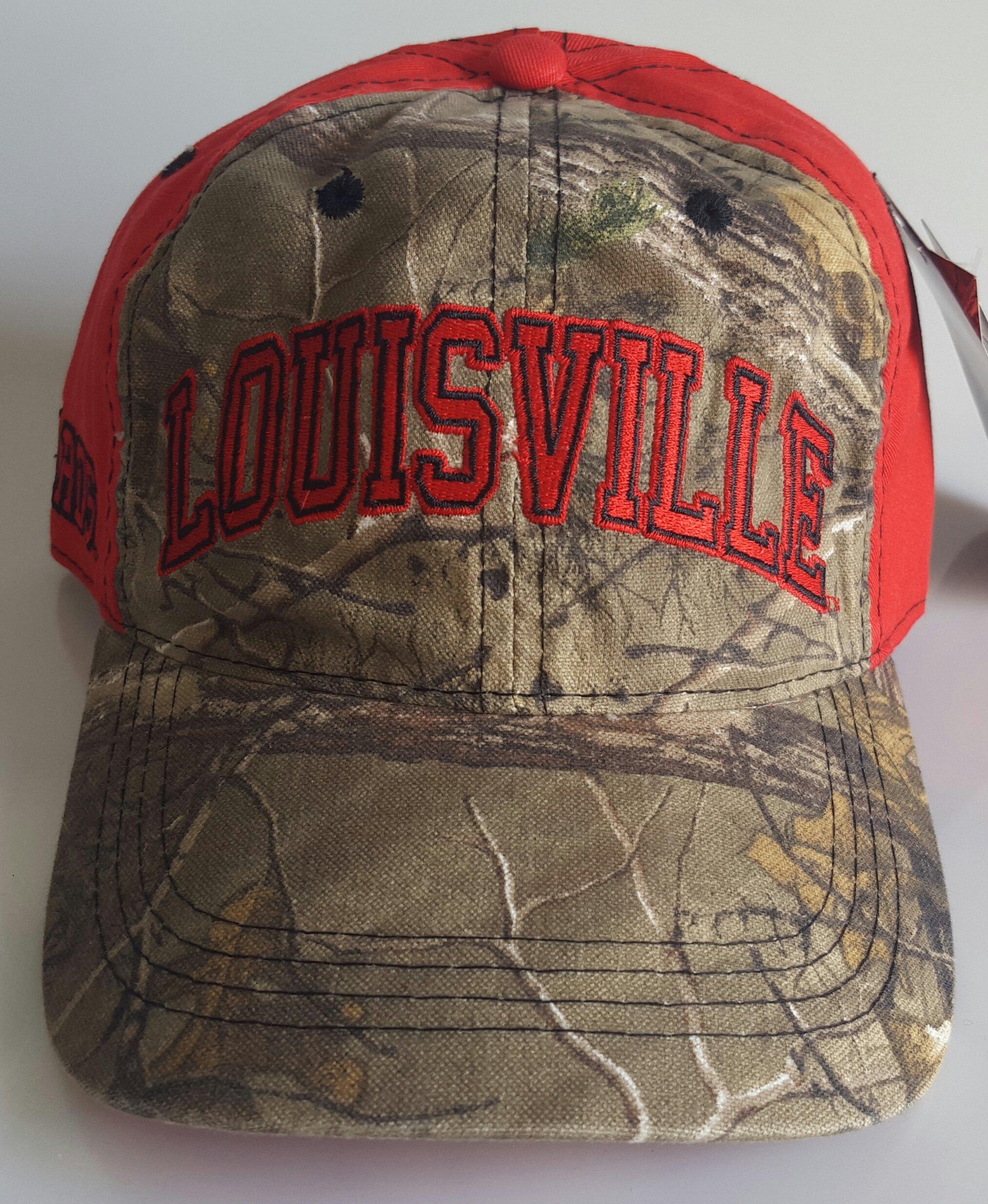 NCAA New University of Louisville Embroidered Adjustable Cap