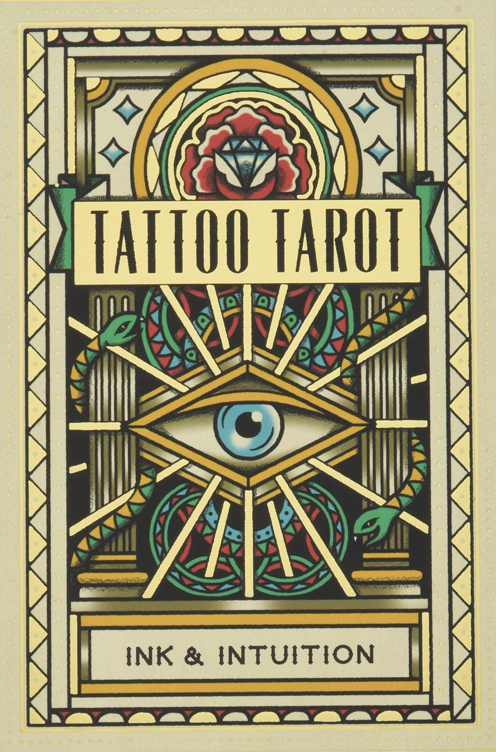 Tattoo Tarot: Ink & Intuition: Amazon.es: Mcmahon-Collis, Diana ...